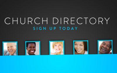 Church Directory Photos