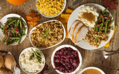 First Family Thanksgiving Feast