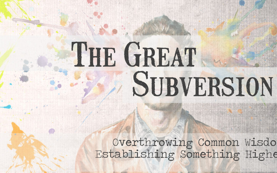 """The Great Subversion"""