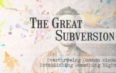 """""""The Great Subversion"""""""