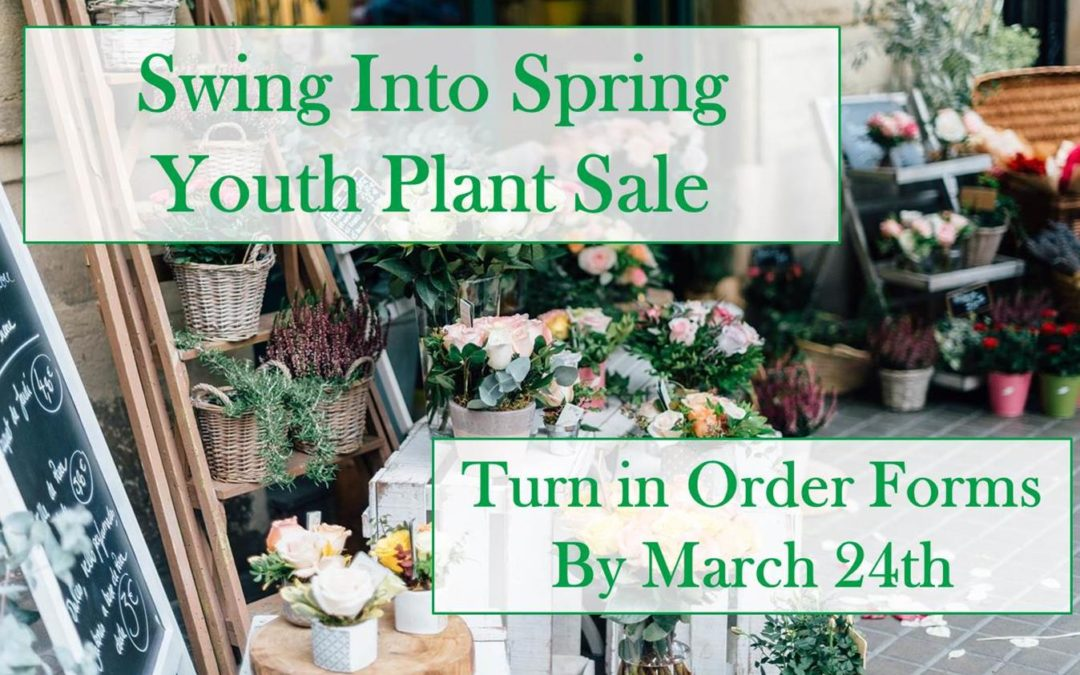 Swing into Spring Youth Plant Sale