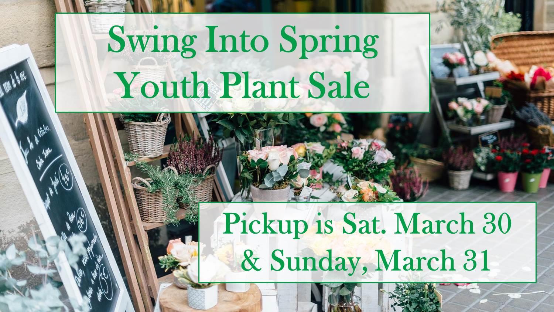 Plant sale 2019 pick up