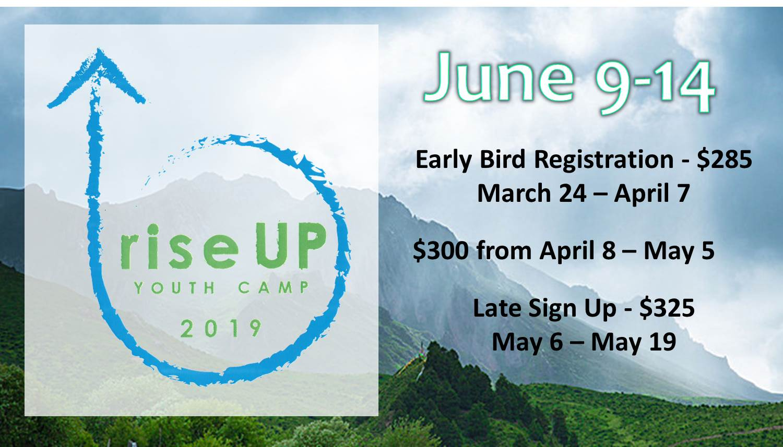 Youth Camp 2019 Slide