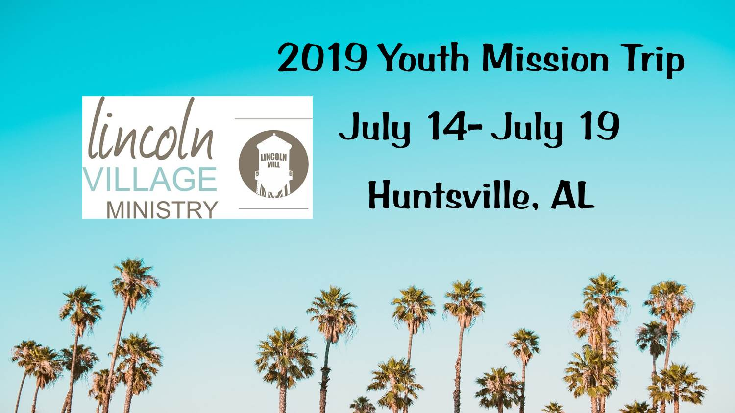 Youth Mission trip website