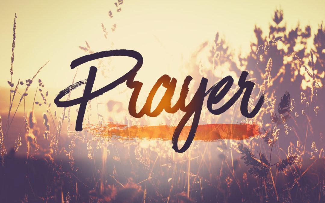 First Sunday Prayer