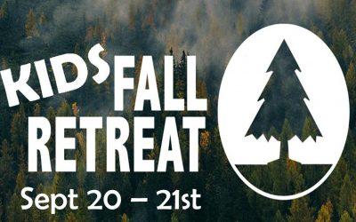 Kids Fall Retreat